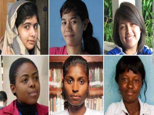 Malala is not alone: Five inspirational young women standing up for their rights